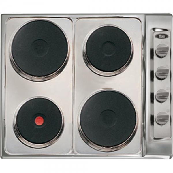 Parrilla electrica teka e 60 2 4p acero inoxidable codigo for Cocina encimera electrica