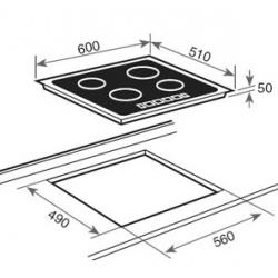 Parrilla electrica vitroceramica induccion teka irf 641 - Cocinas induccion teka ...